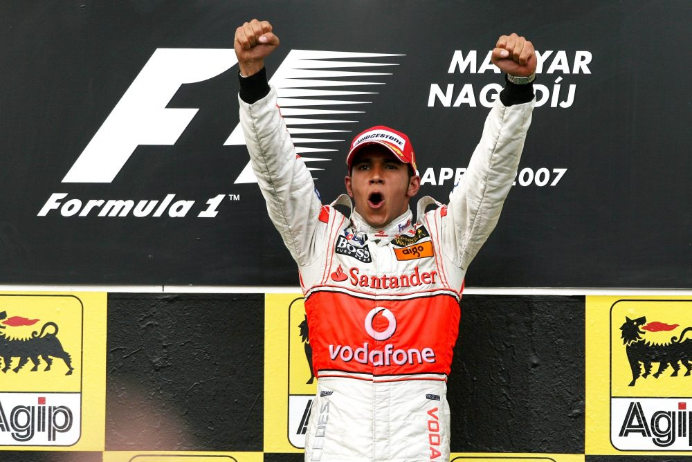Hamilton initiates Hungary record with first win in 2007