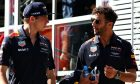 Qualifying leaves Verstappen relieved and Ricciardo frustrated