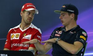 Max Verstappen laughs off Vettel's complaints