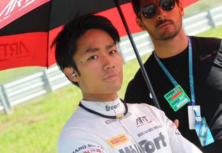 F2 racer Matsushita to test for Sauber