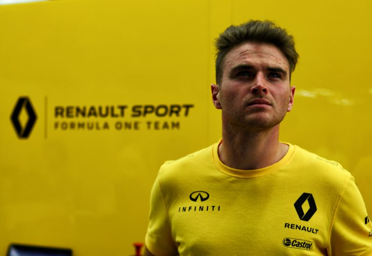 Oliver Rowland gets another taste of F1