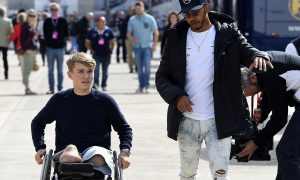 Billy Monger is Lewis Hamilton's special guest this weekend