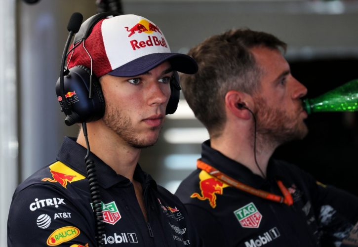 Gasly replaces Buemi at e.dams for New York ePrix