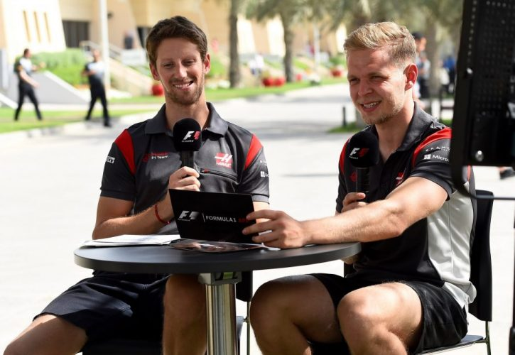 Magnussen 'best team mate since Alonso' - Grosjean