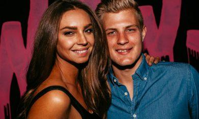 Marcus Ericsson and Sarah Todd