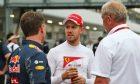 Sebastian Vettel-Christian Horner