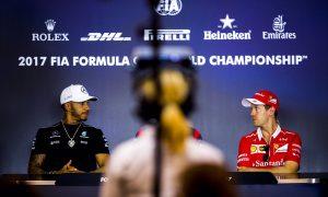 Hamilton-Vettel: So near yet still far apart