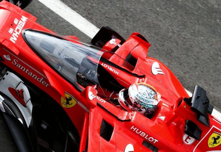 Sebastian Vettel-Ferrari-Shield