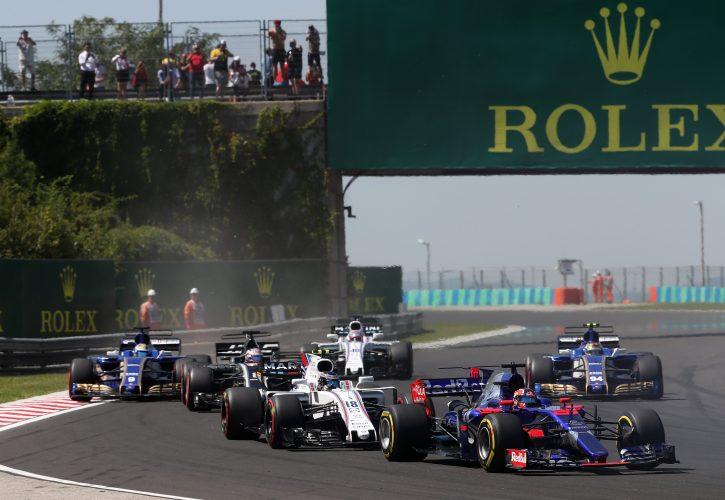 Hungarian GP Race 30/07/17