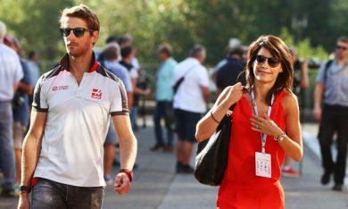 Romain and Marion Grosjean