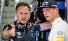 Christian Horner and Max Verstappen, Red Bull Racing