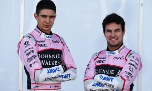 Perez expects the pressure to be on Ocon in 2018