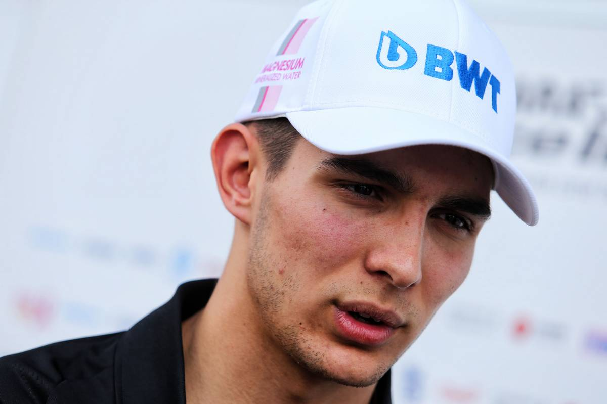 Esteban Ocon (FRA) Sahara Force India F1 Team. 06.07.2017. Formula 1 World Championship, Rd 9, Austrian Grand Prix, Spielberg, Austria, Preparation Day. - www.xpbimages.com, EMail: requests@xpbimages.com - copy of publication required for printed pictures. Every used picture is fee-liable. © Copyright: Moy / XPB Images