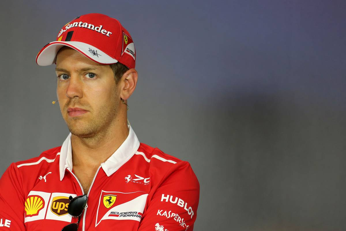 Sebastian Vettel (GER) Scuderia Ferrari 06.07.2017. Formula 1 World Championship, Rd 9, Austrian Grand Prix, Spielberg, Austria, Preparation Day.- www.xpbimages.com, EMail: requests@xpbimages.com - copy of publication required for printed pictures. Every used picture is fee-liable. © Copyright: Charniaux / XPB Images