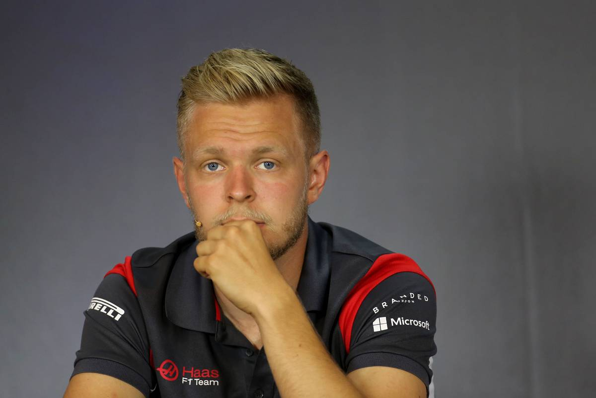 Kevin Magnussen (DEN) Haas F1 Team 06.07.2017. Formula 1 World Championship, Rd 9, Austrian Grand Prix, Spielberg, Austria, Preparation Day.- www.xpbimages.com, EMail: requests@xpbimages.com - copy of publication required for printed pictures. Every used picture is fee-liable. © Copyright: Charniaux / XPB Images
