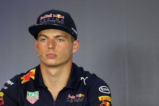 Max Verstappen (NLD) Red Bull Racing 