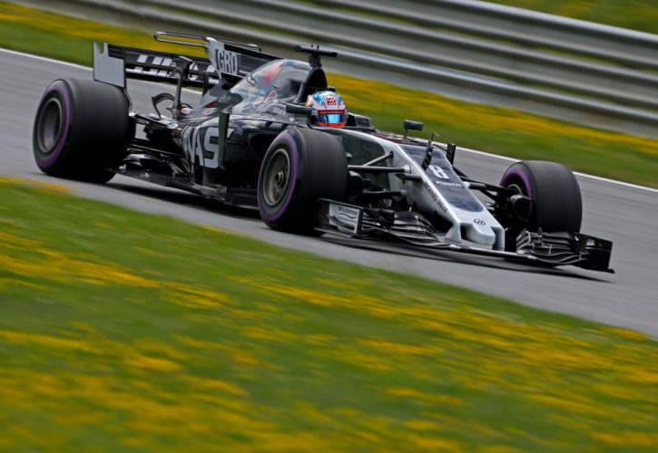 Grosjean wins Austrian GP mid-field battle
