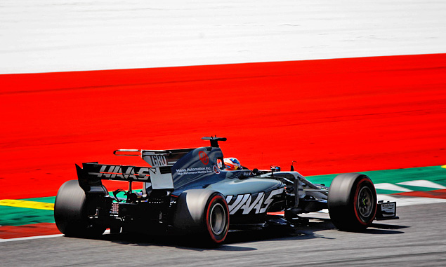 Haas F1 Team, Romain Grosjean