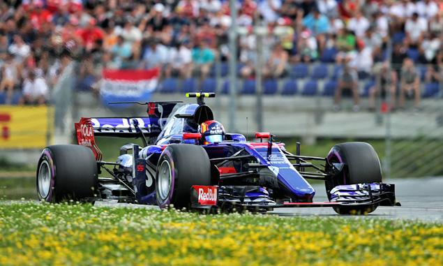 Toro Rosso, Carlos Sainz, Austrian Grand prix