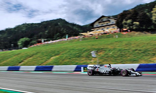 Romain Grosjean, Haas F1, Austrian Grand Prix