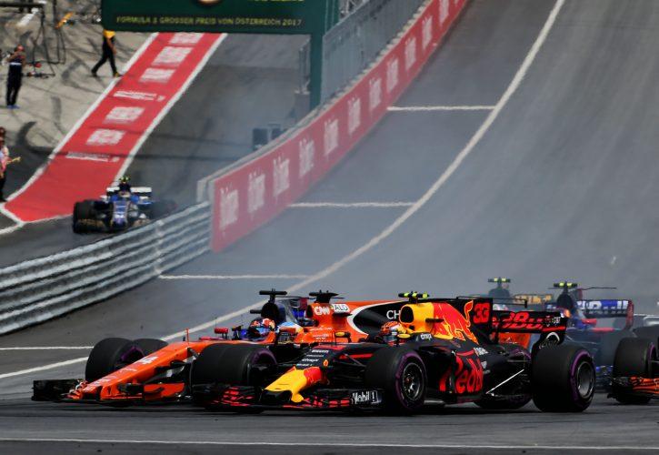 Max Verstappen: Austria kerbs 'not designed' for Formula One
