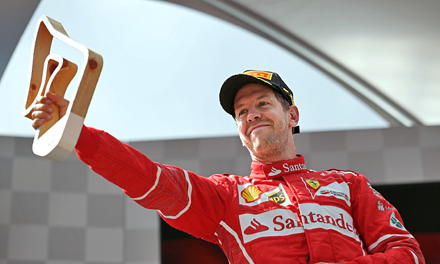 Sebastian Vettel, Ferrari, Austrian Grand Prix