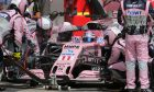 Perez resumes points scoring ways in Austria