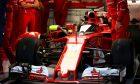 Ferrari cockpit shield