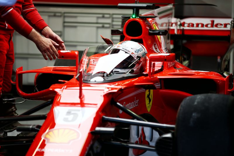 Ferrari Sebastian Vettel Shield