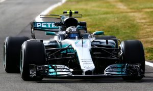 Bottas breaks track record and heads FP1 at Silverstone