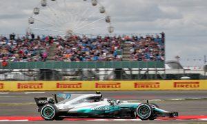 Bottas enjoying 'positive start' to British GP weekend