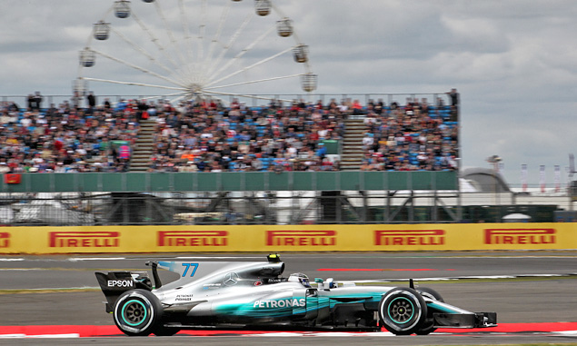 Valtteri Bottas, Mercedes, British Grand Prix