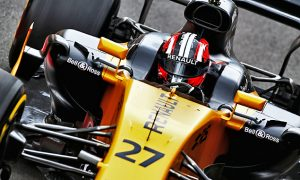Hulkenberg flies amid more woe for Palmer at Silverstone