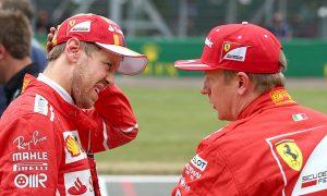 Ferrari 'not fast enough for pole,' admit Raikkonen and Vettel
