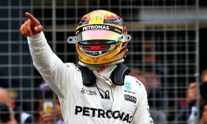 Hamilton 'had no indication' of Grosjean's approach