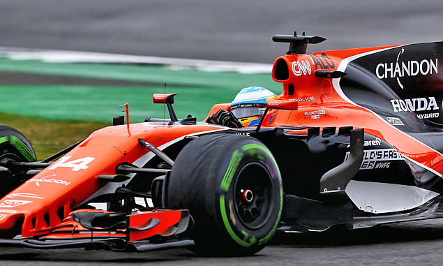 Fernando Alonso, McLaren, British Grand Prix