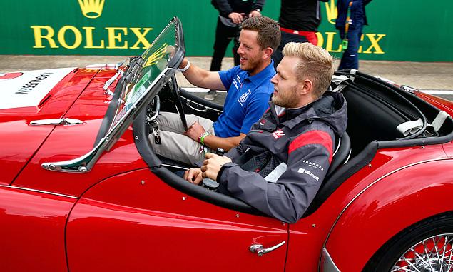 Kevin Magnussen, Haas F1 Team, British Grand Prix