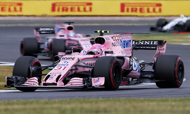 Force India, Esteban Ocon, British Grand Prix
