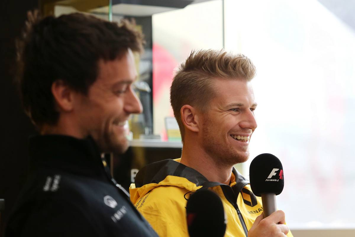 Nico Hulkenberg (GER) Renault Sport F1 Team 27.07.2017. Formula 1 World Championship, Rd 11, Hungarian Grand Prix, Budapest, Hungary, Preparation Day.- www.xpbimages.com, EMail: requests@xpbimages.com - copy of publication required for printed pictures. Every used picture is fee-liable. © Copyright: Charniaux / XPB Images