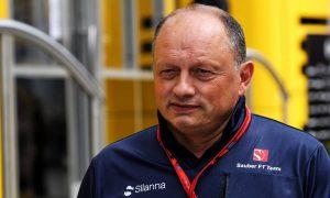 Vasseur predicts 'huge step' for Sauber in 2018