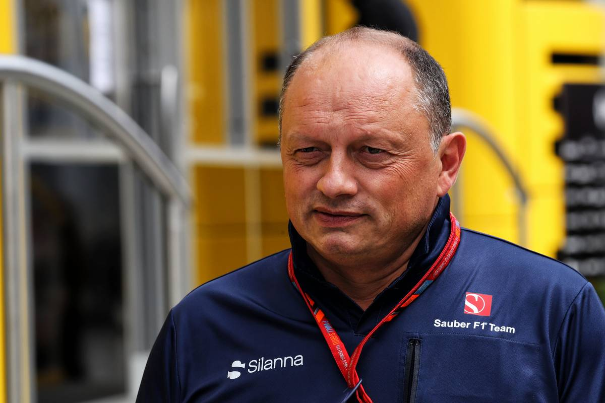 Frederic Vasseur (FRA) Sauber F1 Team, Team Principal. 27.07.2017. Formula 1 World Championship, Rd 11, Hungarian Grand Prix, Budapest, Hungary, Preparation Day. - www.xpbimages.com, EMail: requests@xpbimages.com - copy of publication required for printed pictures. Every used picture is fee-liable. © Copyright: Photo4 / XPB Images