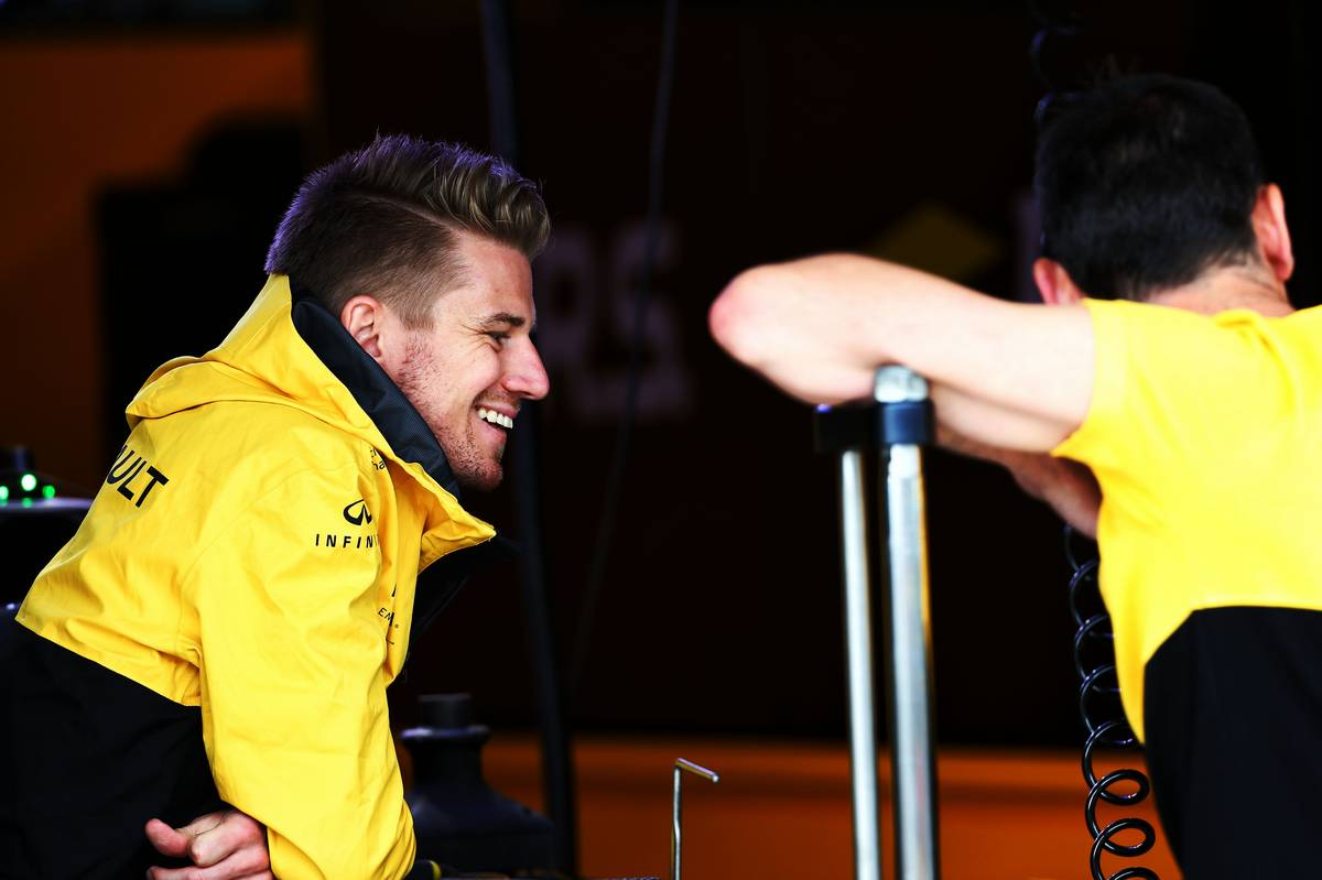 Nico Hulkenberg (GER) Renault Sport F1 Team. 27.07.2017. Formula 1 World Championship, Rd 11, Hungarian Grand Prix, Budapest, Hungary, Preparation Day. - www.xpbimages.com, EMail: requests@xpbimages.com - copy of publication required for printed pictures. Every used picture is fee-liable. © Copyright: Batchelor / XPB Images
