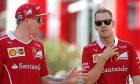 Sebastian Vettel, Kimi Raikkonen, Ferrari