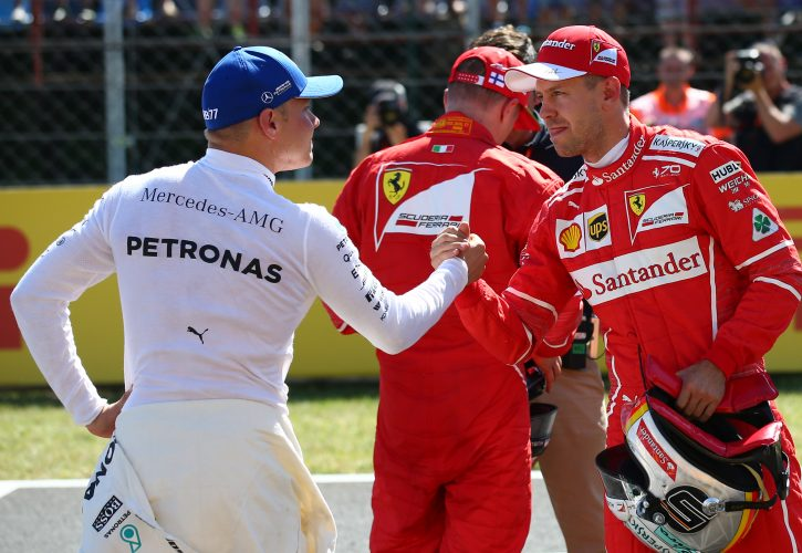 Bottas surprised by Ferrari outperformance