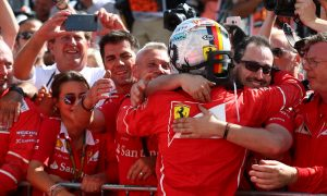 Vettel 'had his hands full' in Hungary with steering issue