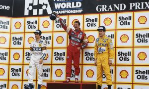 A memorable win for Mansell thirty years ago