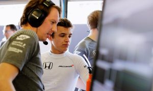 Norris set to replace Button as McLaren's reserve driver