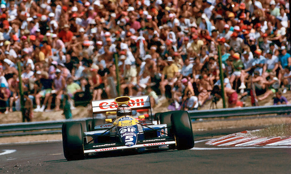 Thierry Boutsen, Williams, 1990 Hungarian Grand Prix