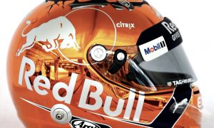 Max Verstappen embraces his inner orange!