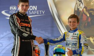 Two young karters with a dream cross paths for the first time